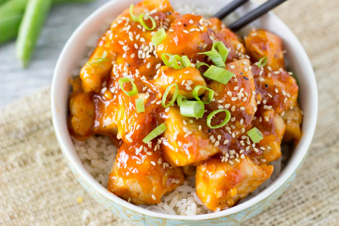 Chinese orange sesame chicken cuisine recipes chinese orange chicken forumfinder Images