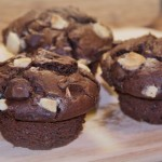 Triple Chocolate  Muffin