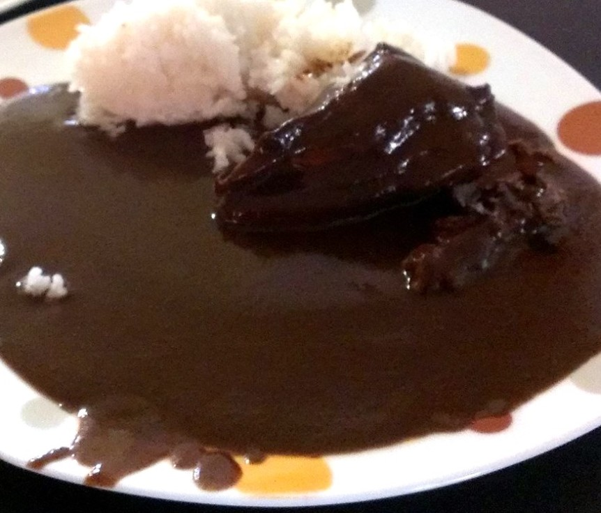 Brown Mole with chicken